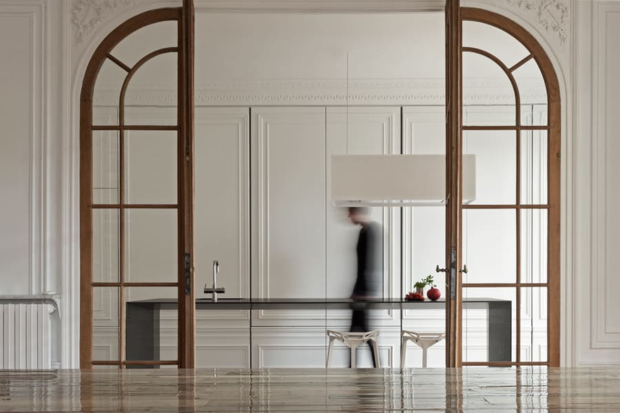 Glass doors by i29 Interior Architects