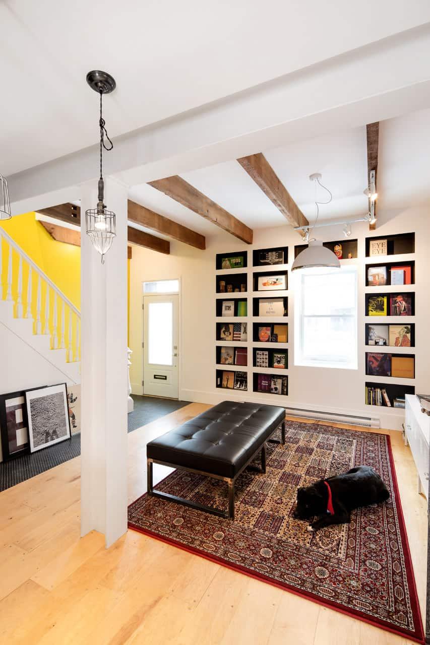 Grand Trunk Row House living room