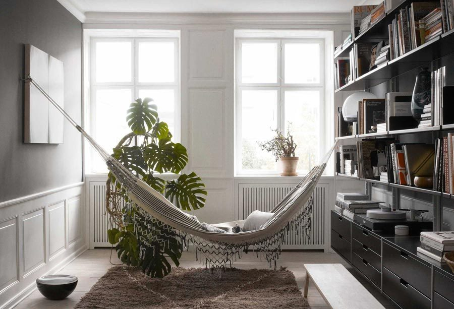 Home library hammock