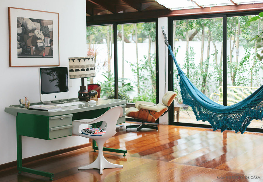 Home office hammock