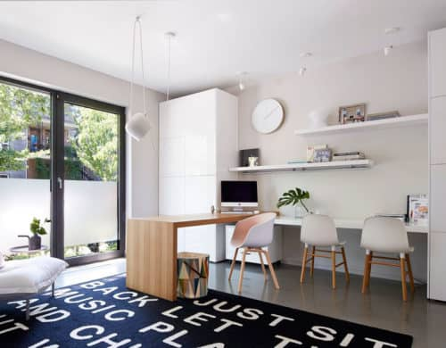 A Minimalist Contemporary Home With Bold Accents