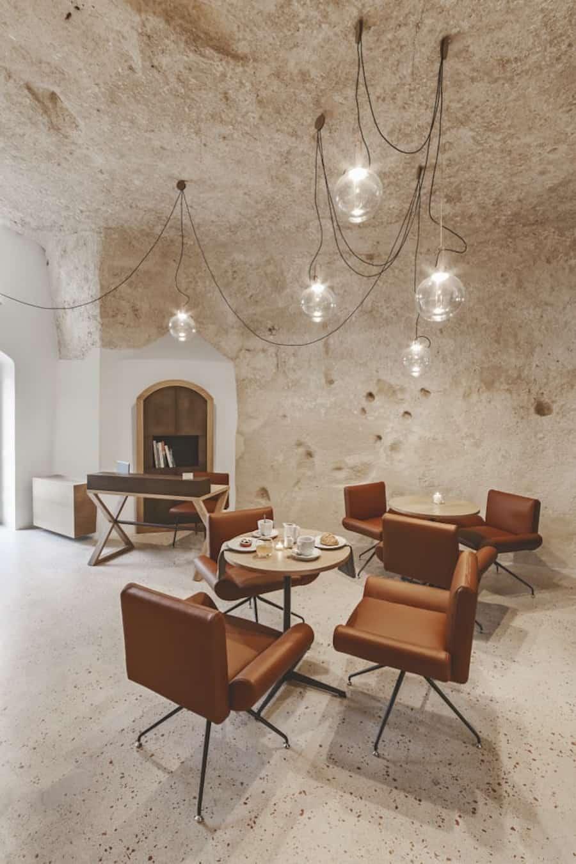 Italian Cave Hotel cafe