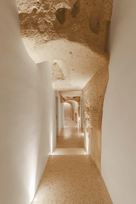 Italian Cave Hotel corridor