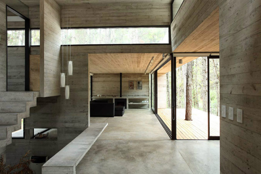 ... JD concrete house by Bak Architects