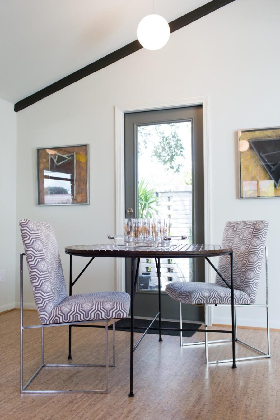 Jamie House remodel with a breakfast nook