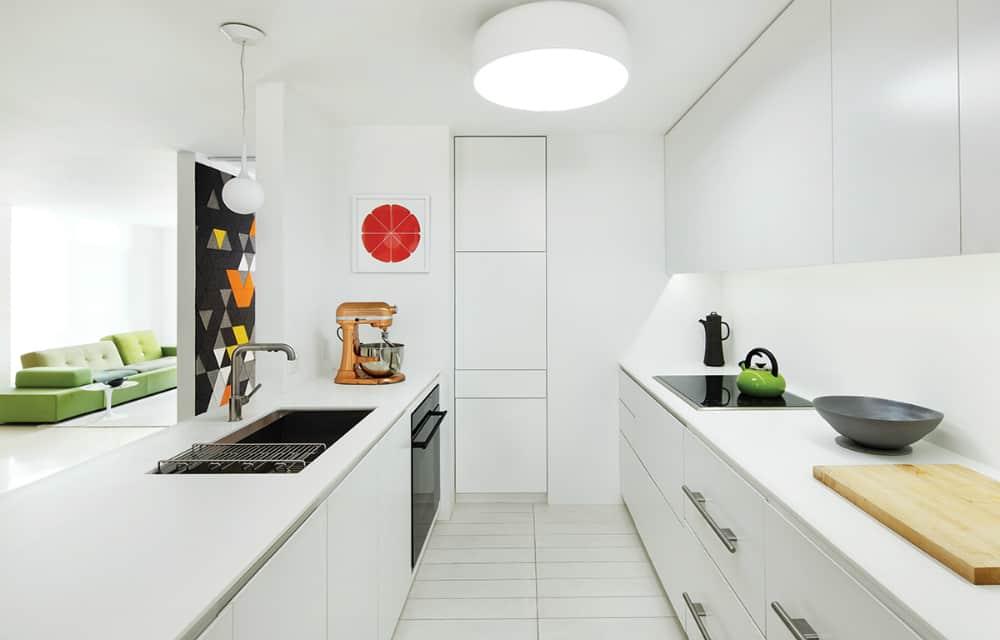 Kitchen modern built-ins