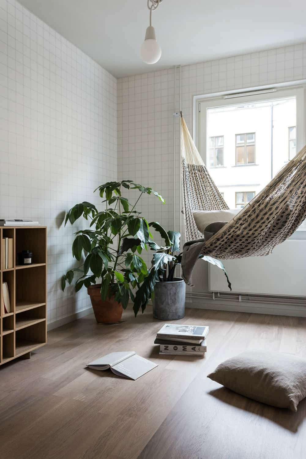 Living room hammock idea