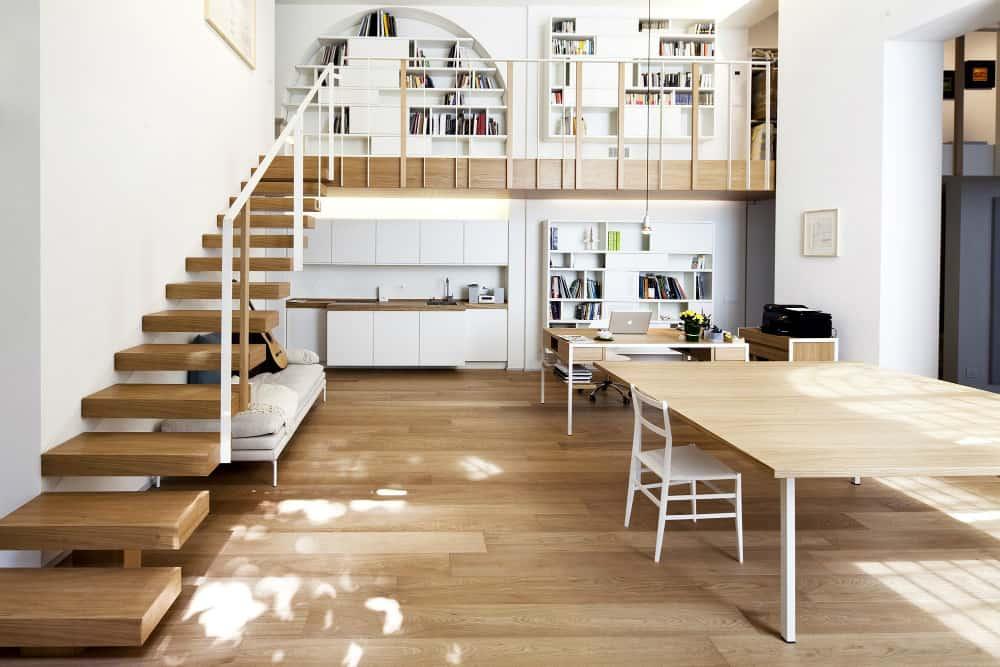 Loft built-ins