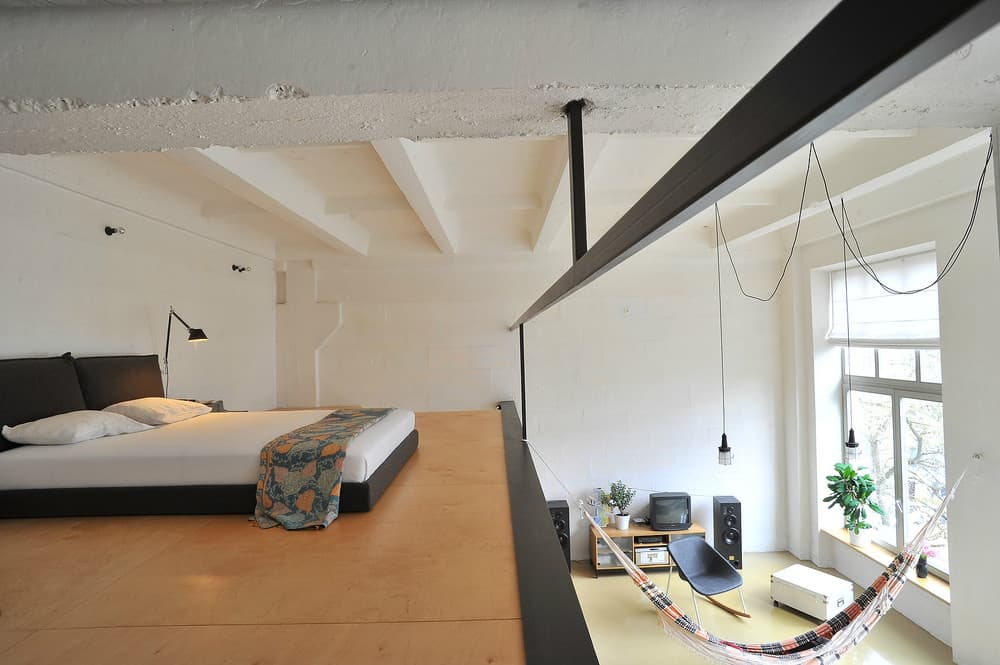 Loft hammock idea