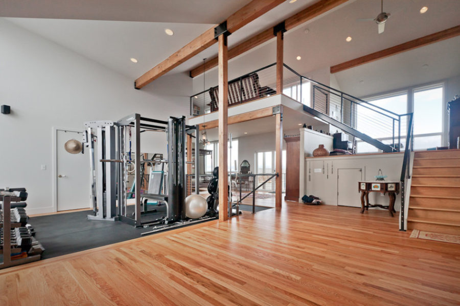 ... Gallery Loft Home Gym