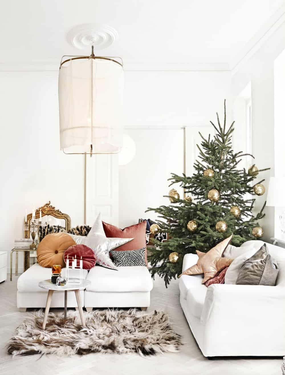 Luxe Christmas decor