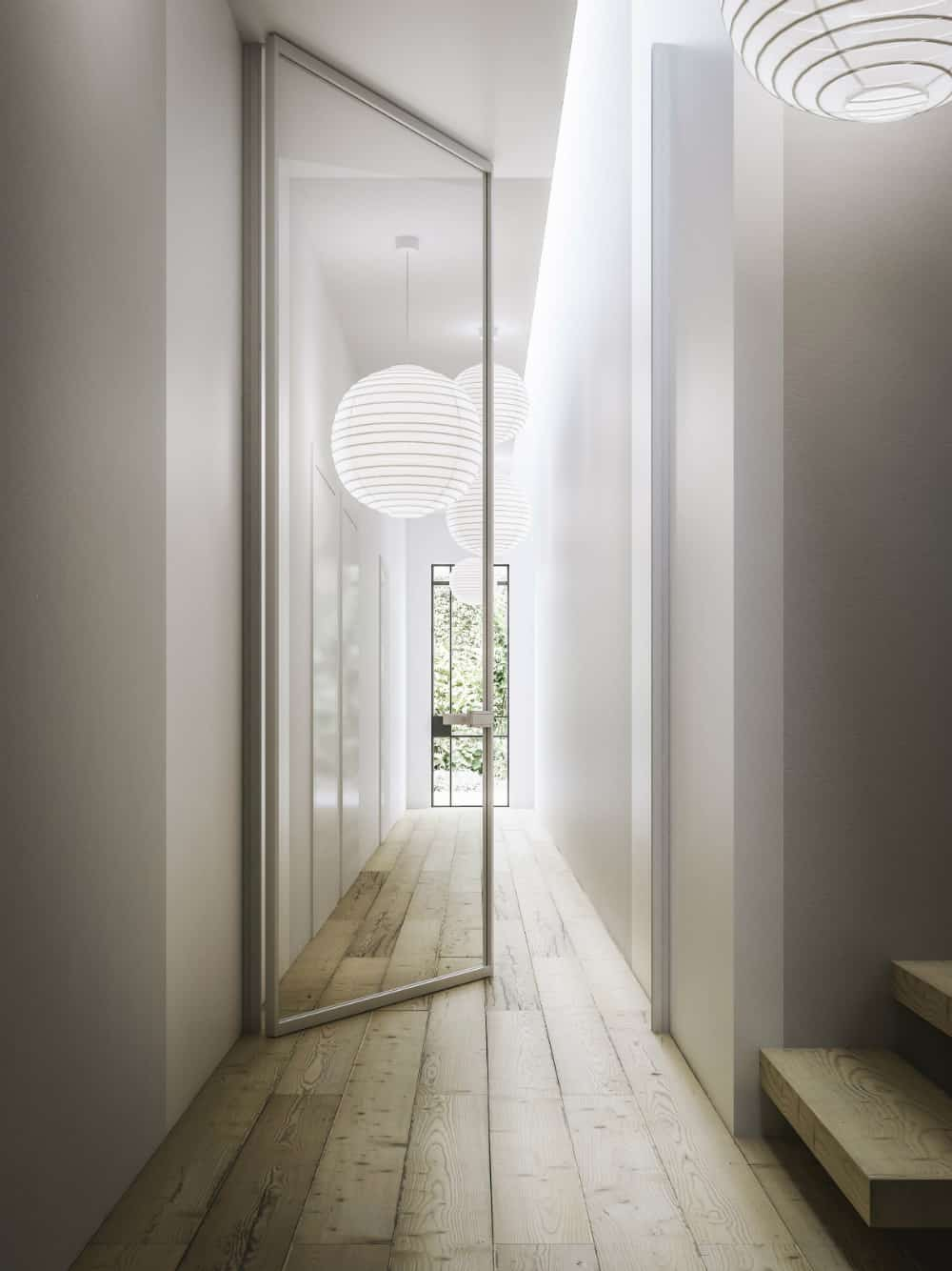 MITIKA swinging-sliding door by ADIELLE