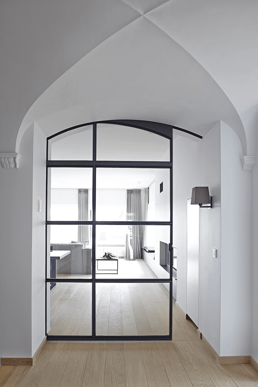 Metal-framed door by ODS Jansen