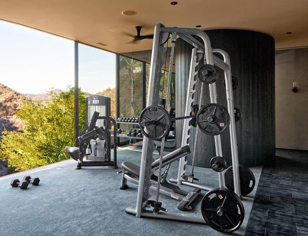 Michael Bay's home gym