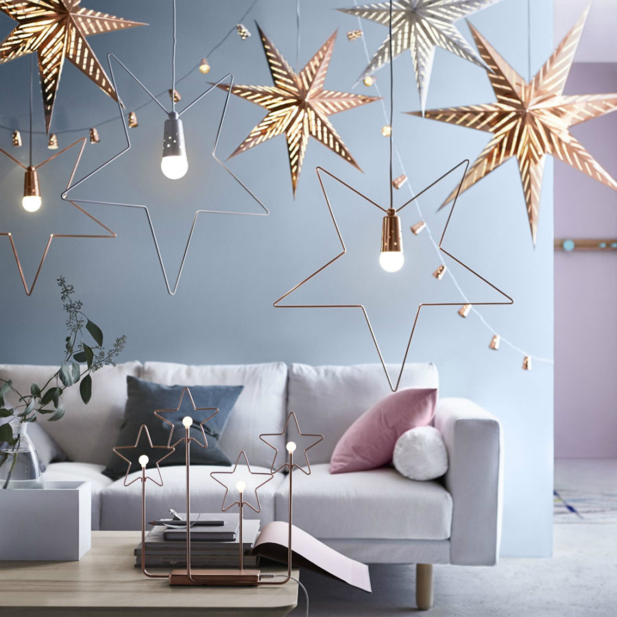 Modern christmas decor ideas are all style and chic for Modern christmas decorations online