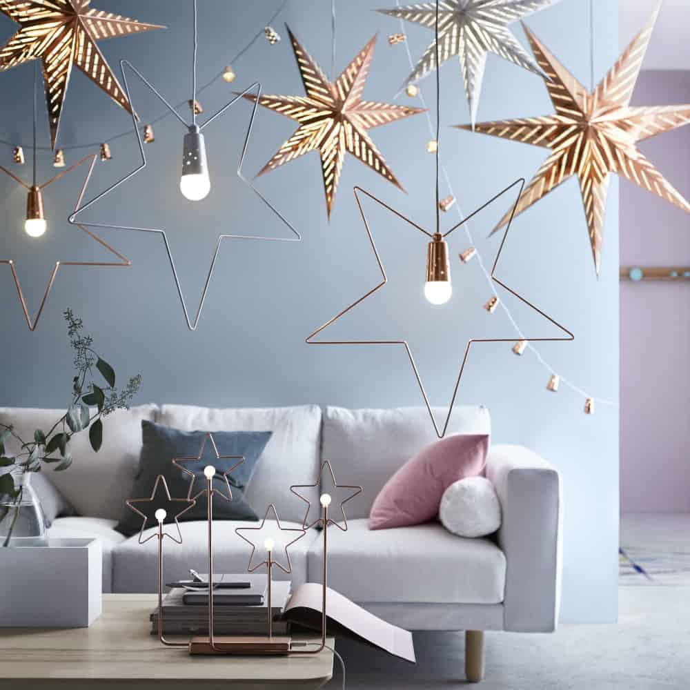 Modern Christmas hanging decorations