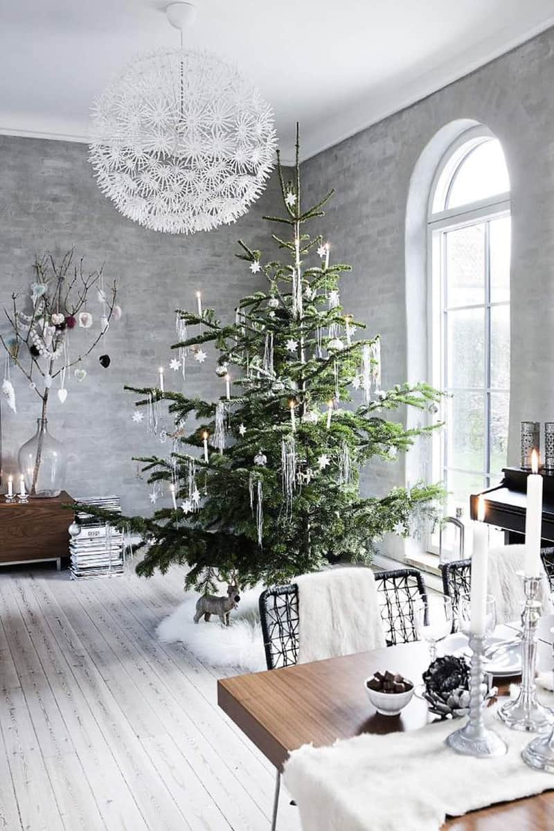 view in gallery natural christmas tree decor