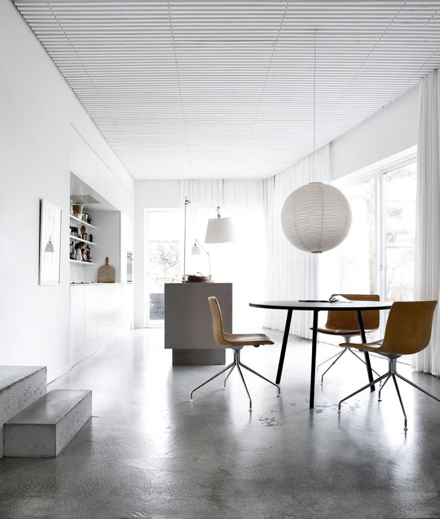 Superior ... Polished Concrete Floors 900x1060 Stylish Concrete Interiors For  Contemporary Homes