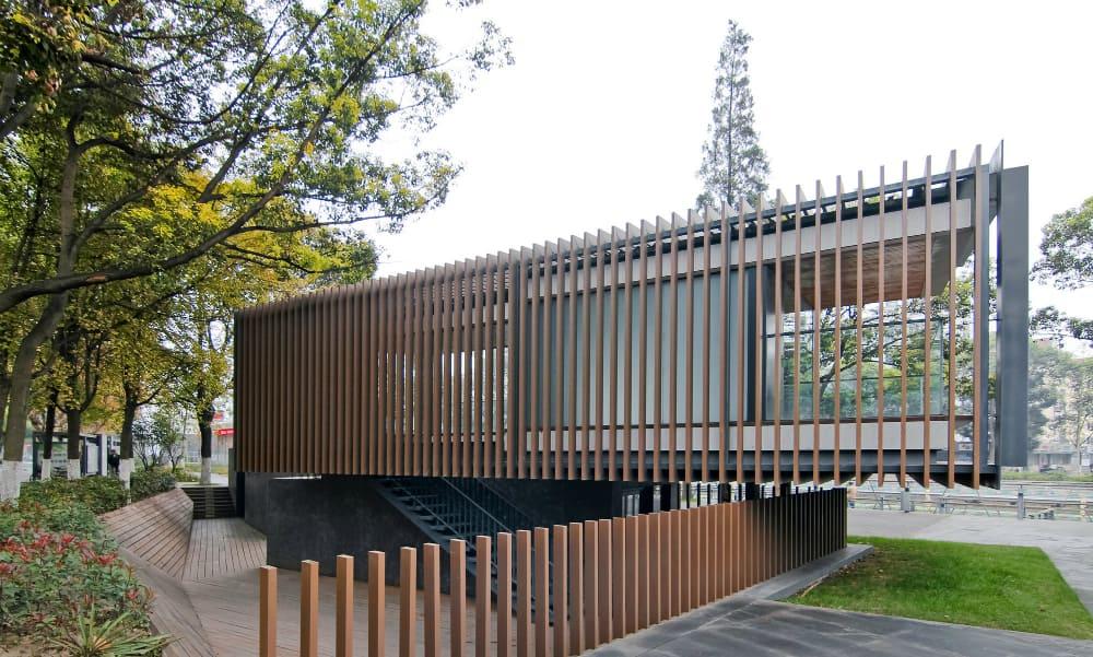 Riverside Park Pavilion by Vector Architects