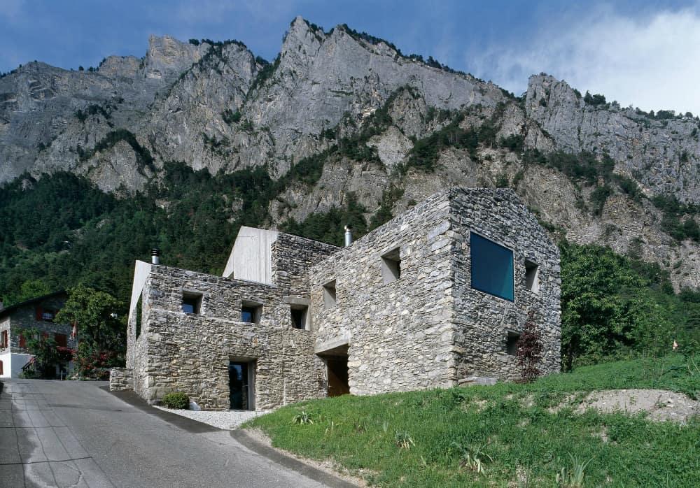 Roduit House Transformation by Savioz Fabrizzi Architectes