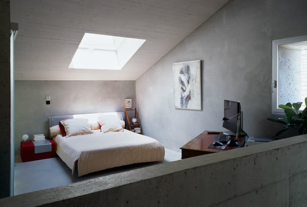 Roduit House bedroom