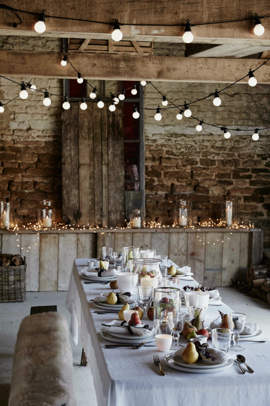 modern christmas table decor via ideas design view in gallery rustic modern christmas decor - Modern Christmas Decorating Ideas