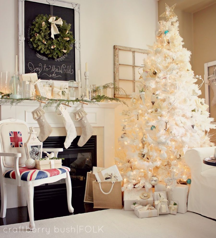 rustic modern holiday decor - Modern Christmas Decorating Ideas