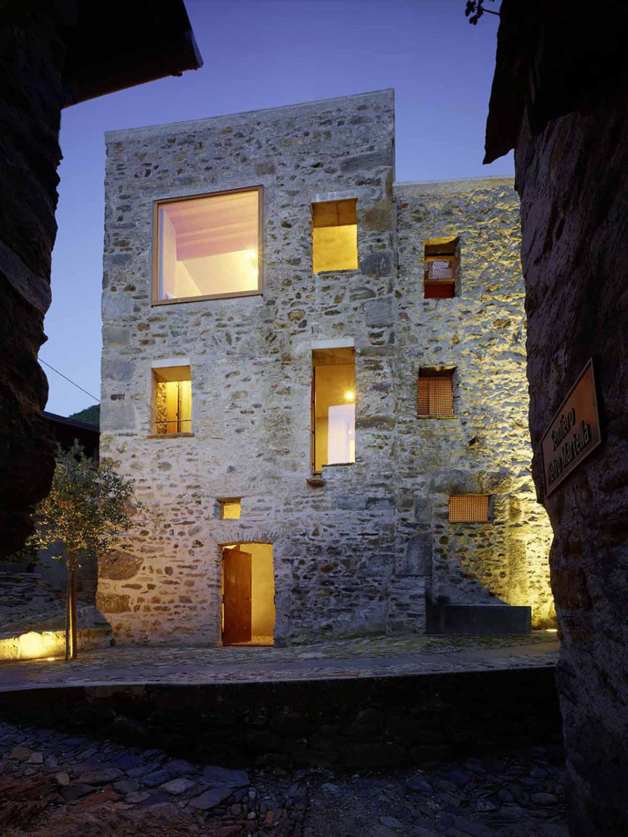 Scaiano Stone House by Wespi de Meuron Romeo