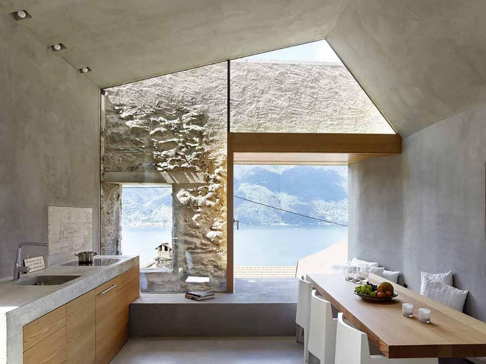 Scaiano Stone House interior
