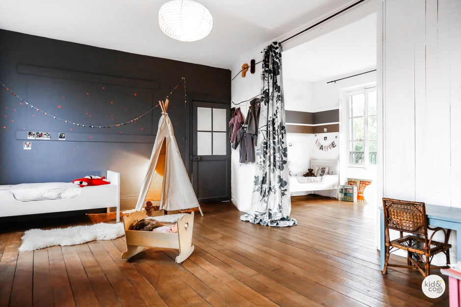 Shared kids rooms in The Saint Martin Residence