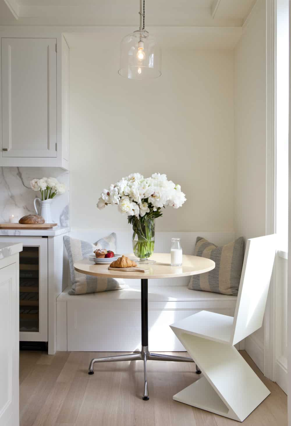 Simple but sweet breakfast area