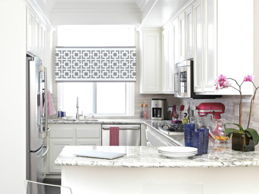 Peninsula With A Column Via Design Maze View In Gallery Small Kitchen With  A Peninsula Part 26