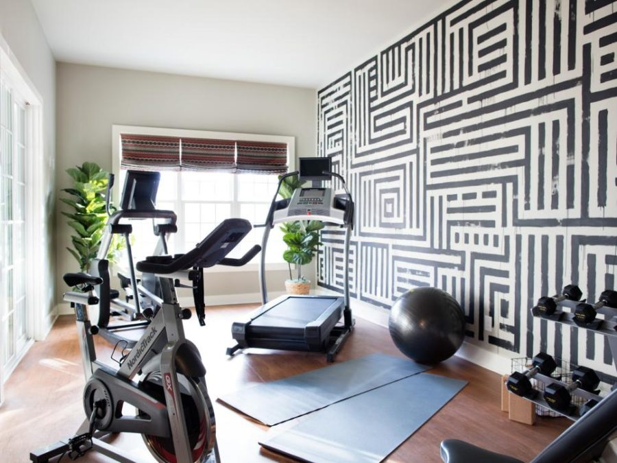 Great Home Gym Designs That Will Make You Wanna Sweat