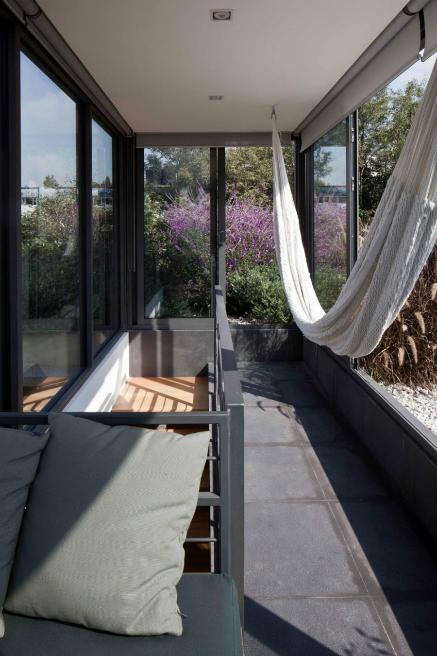 Sunroom hammock