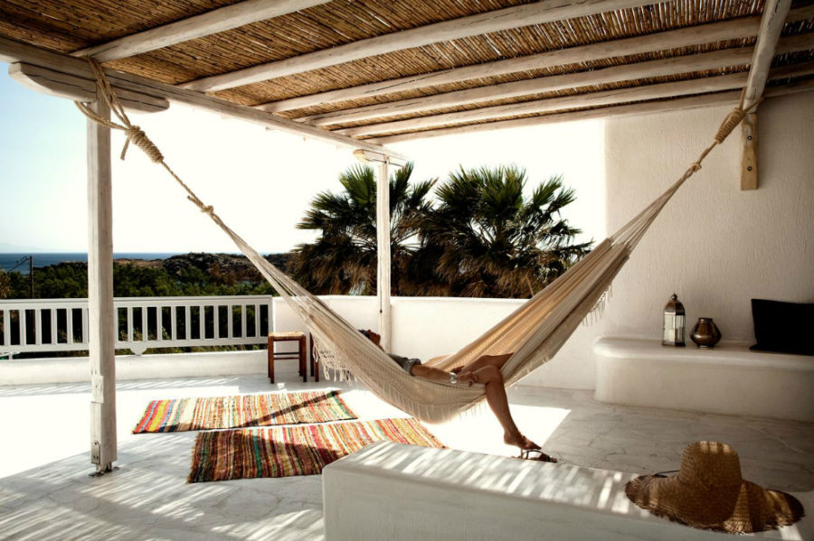 Terrace hammock