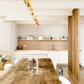 This Modern Italian Apartment is Designed in Wood