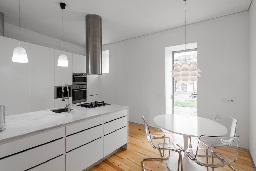 Three Cusps Chalet kitchen