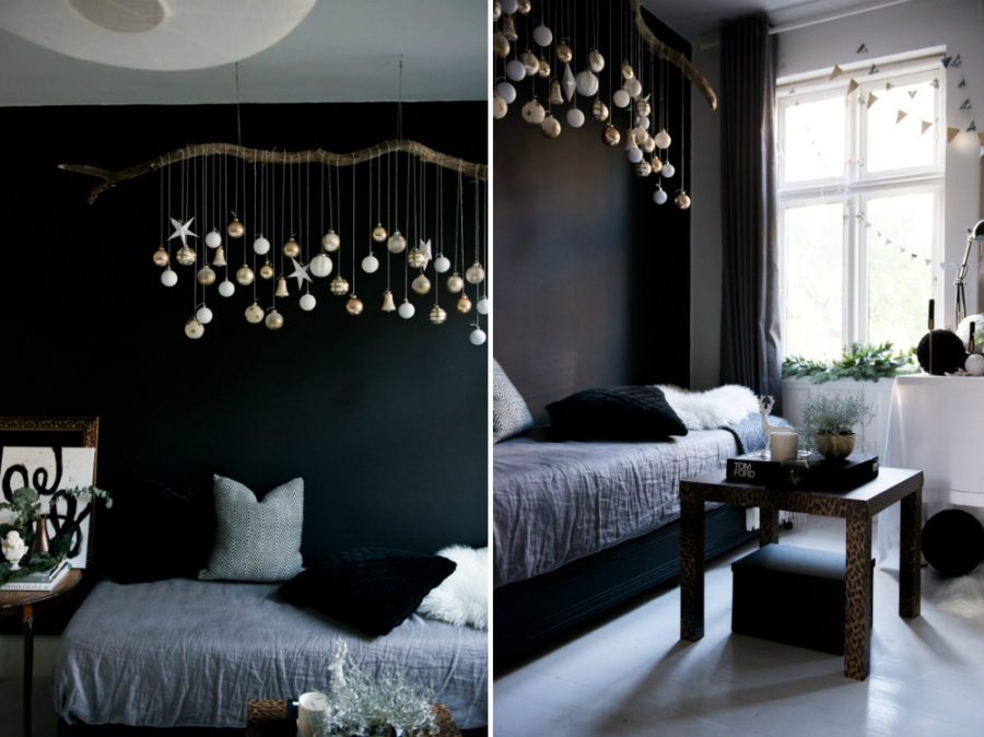 Valentina Fussell Glamorous Christmas Living Room