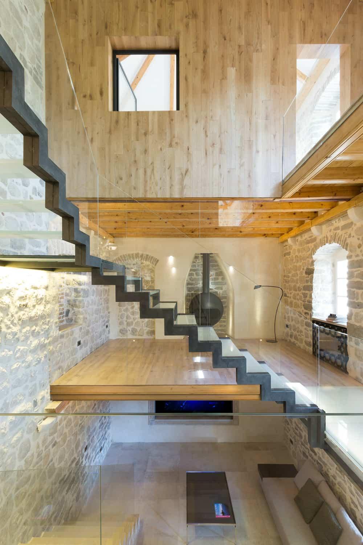 Villa Monja staircase