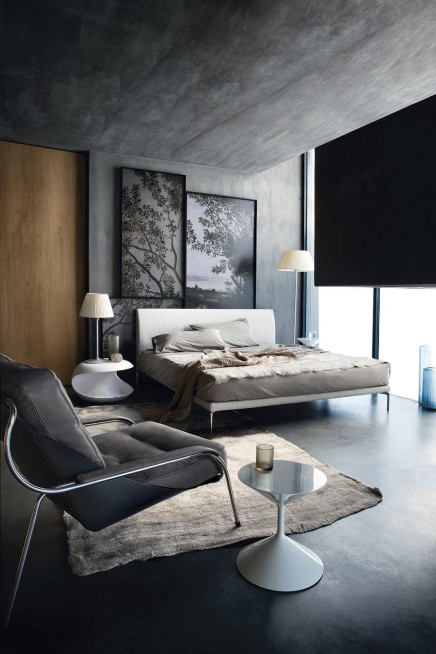 Good ... Zanotta Talamo Concrete Interior