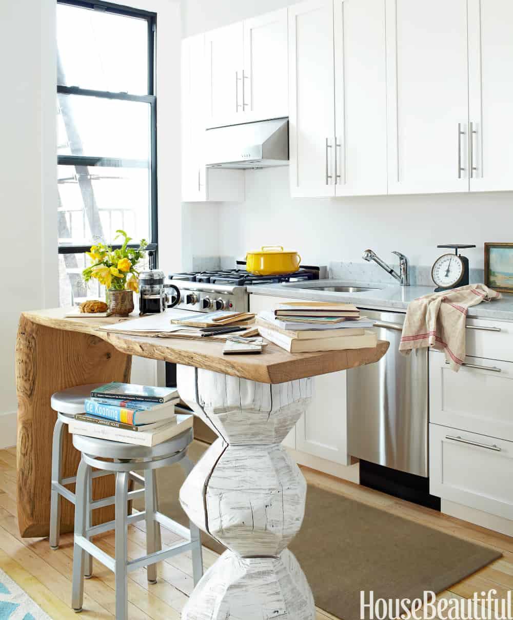 Amazingly unique kitchen island
