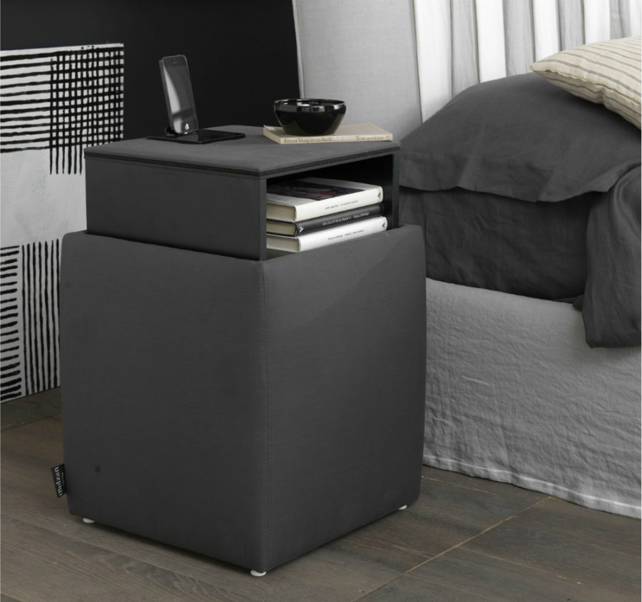 Ares bedside docking station by Bolzan Letti