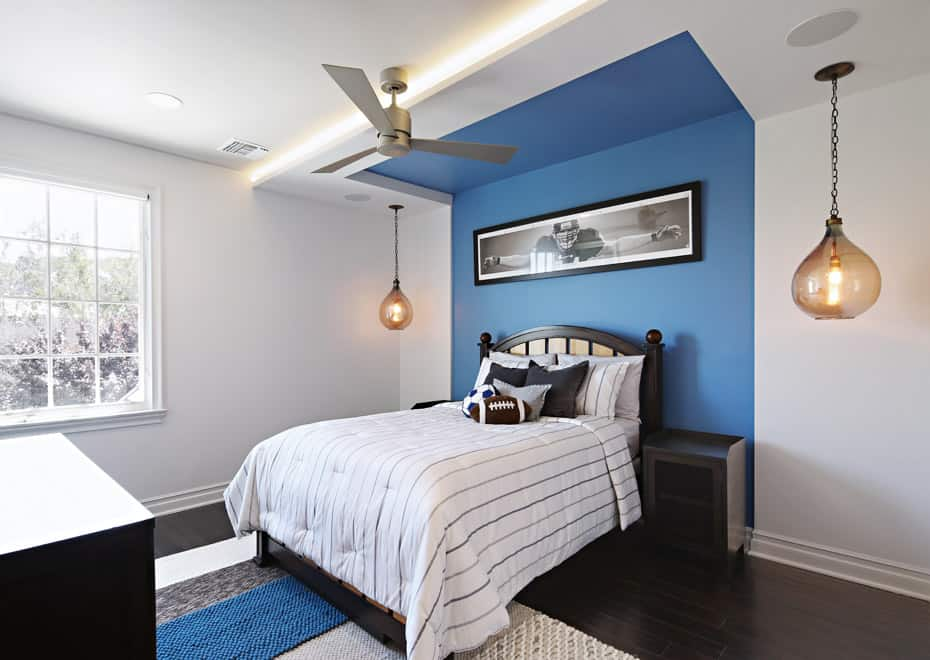 Bedroom recessed lighting