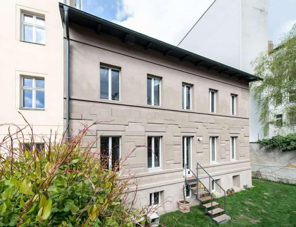Berlin house facade