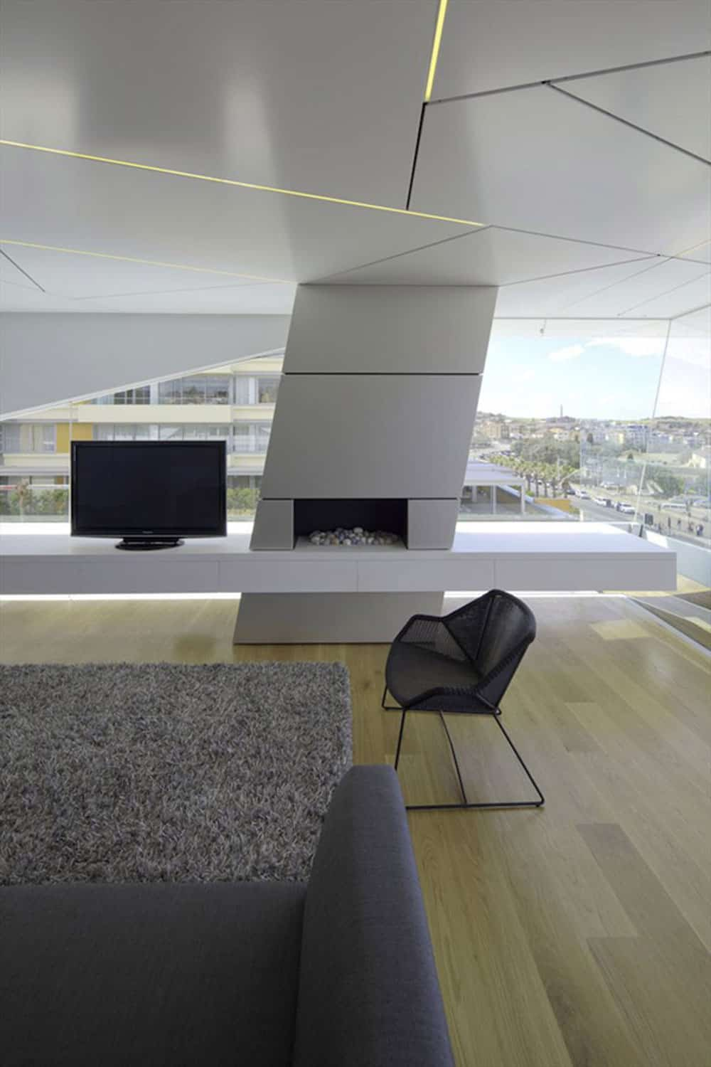 Bondi Penthouse by Brian Meyerson Architects