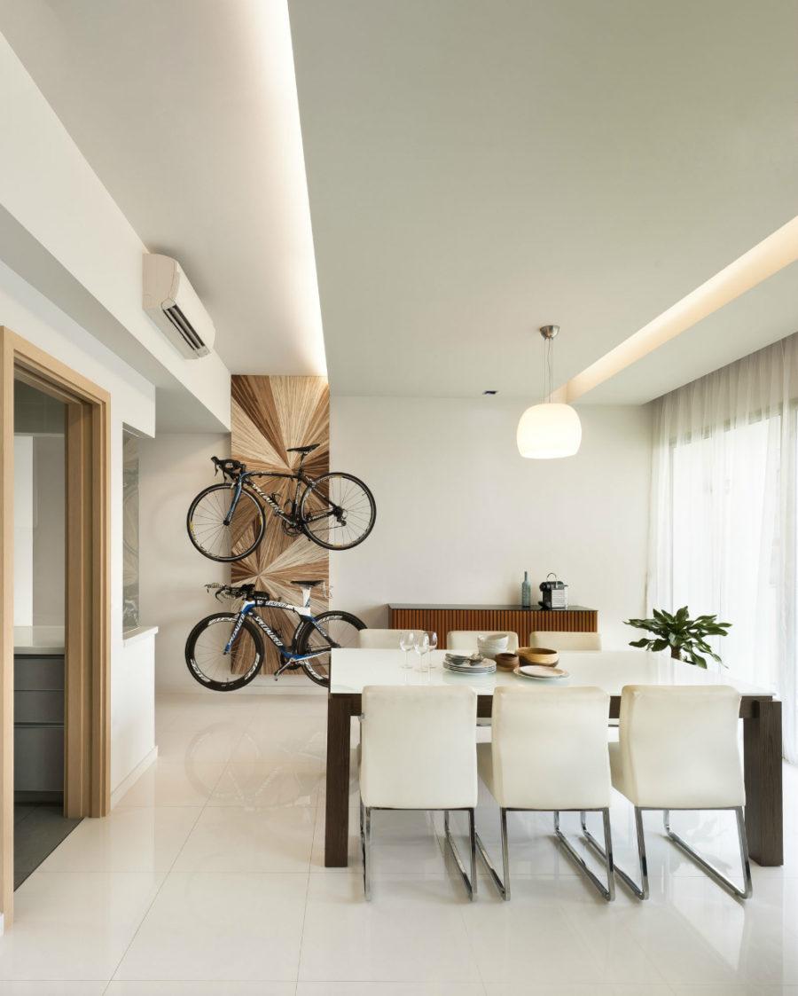 Built-in ceiling lighting