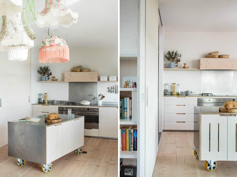 Contempomrary eco kitchen