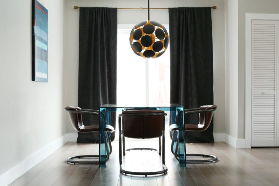 Contemporary dining area Caitlin McCarthy Design