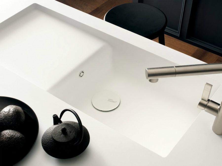 Corian townhouse style sink