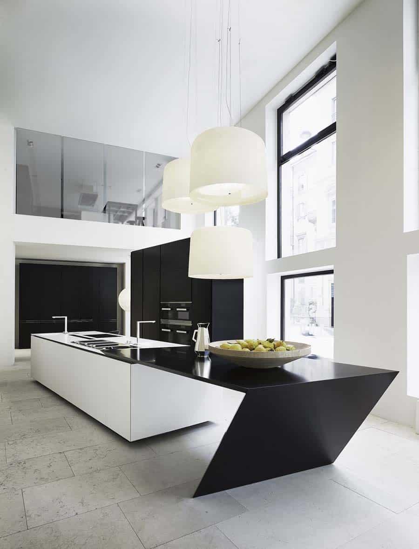 Daniel Libeskind kitchen for Varenna
